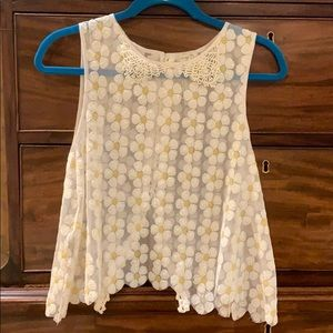 Free People - daisy, sequin top